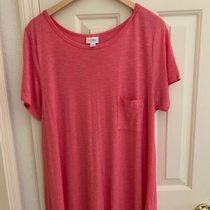 Lula Roe Pink Dress